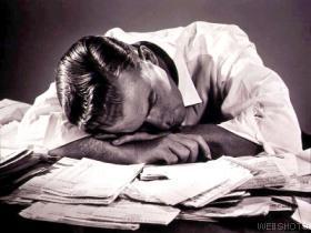 exhaustedman