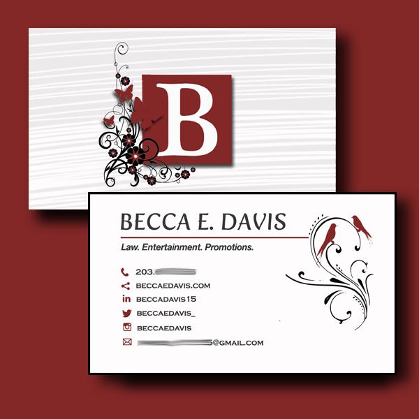 b biz cards