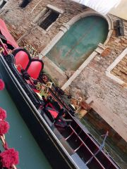 One of the fancy gondolas